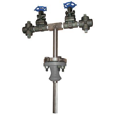 Medidor de flujo de vapor anular con brida Ellipse® modelo ASF