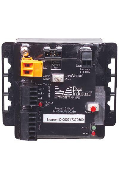Transmisor BTU LonWorks® tipo 340 LW