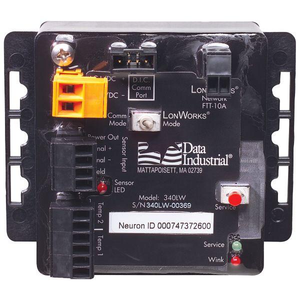 Type 340 LW-LonWorks® BTU Transmitter