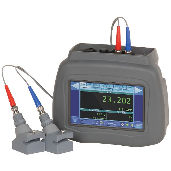 DXN Portable Hybrid Ultrasonic Flow Meter