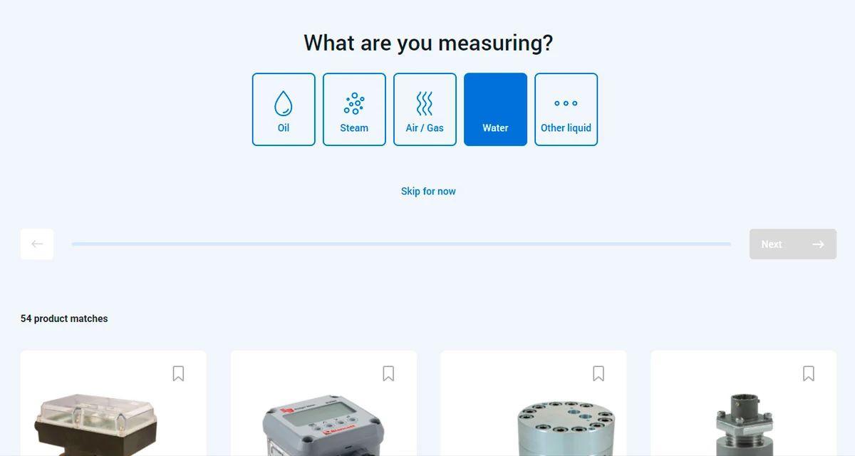 Meter Selector Tool