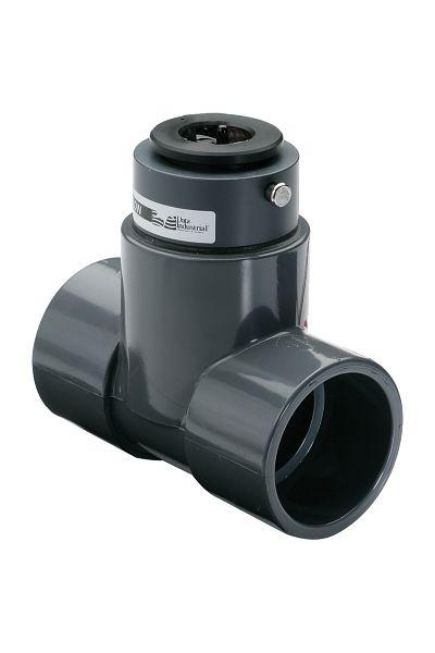 Capteurs de débit industriels tés en PVC gamme 228PV
