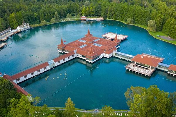 ModMAG® M2000 electromagnetic flow meter - Lake Hévíz in Hungary