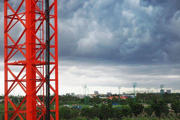 orage approch un système AMI cellulaires