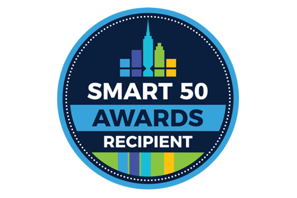 Smart 50 Award Recipient Logo