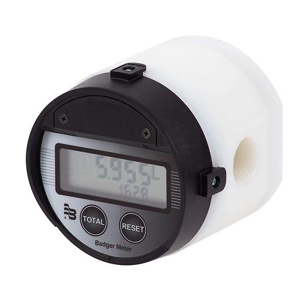 Débimètres à engrenages ovales de precision IOG PVDF