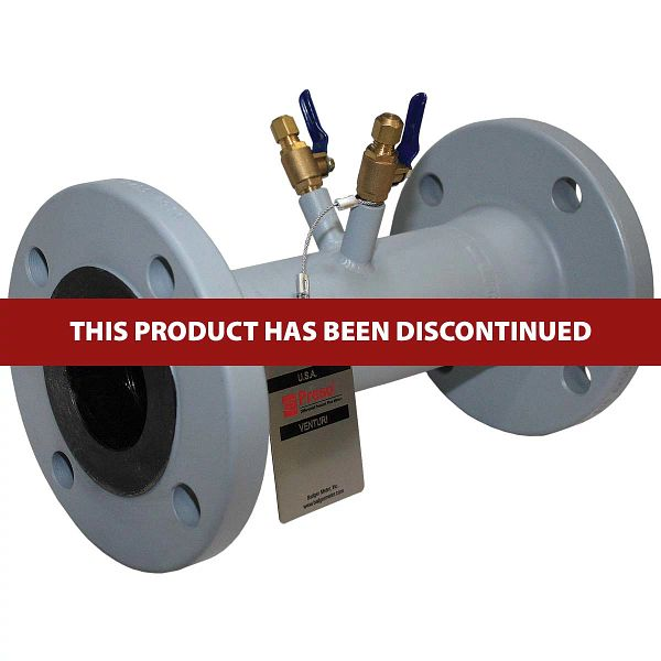 Medidor de flujo Venturi serie CV