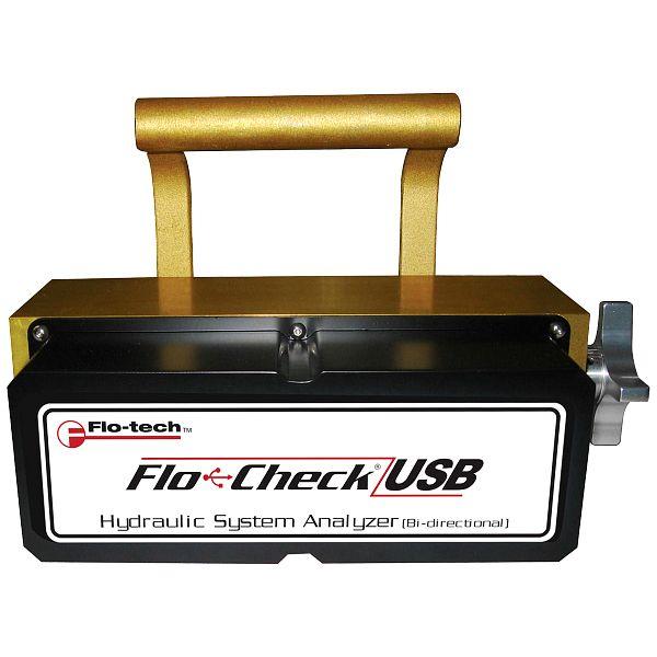 Analyseur USB de système hydraulique Flo-tech Flo-Check®