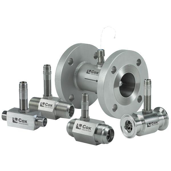 Medidor tipo turbina de precisión Cox®
