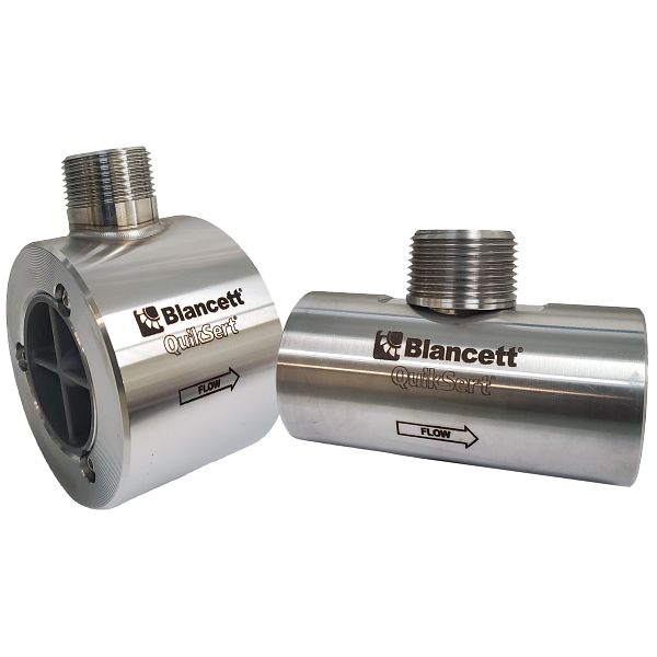 QuikSert® In-Line Turbine Flow Meter